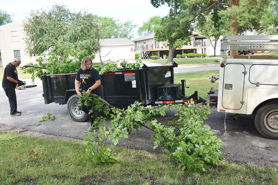 Summer storms continue in Twin Towns Area