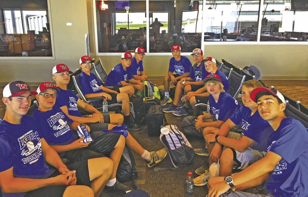 Wahpeton 14U team in Alabama