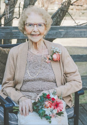 Irene Johanna (Theede) Trom, 95