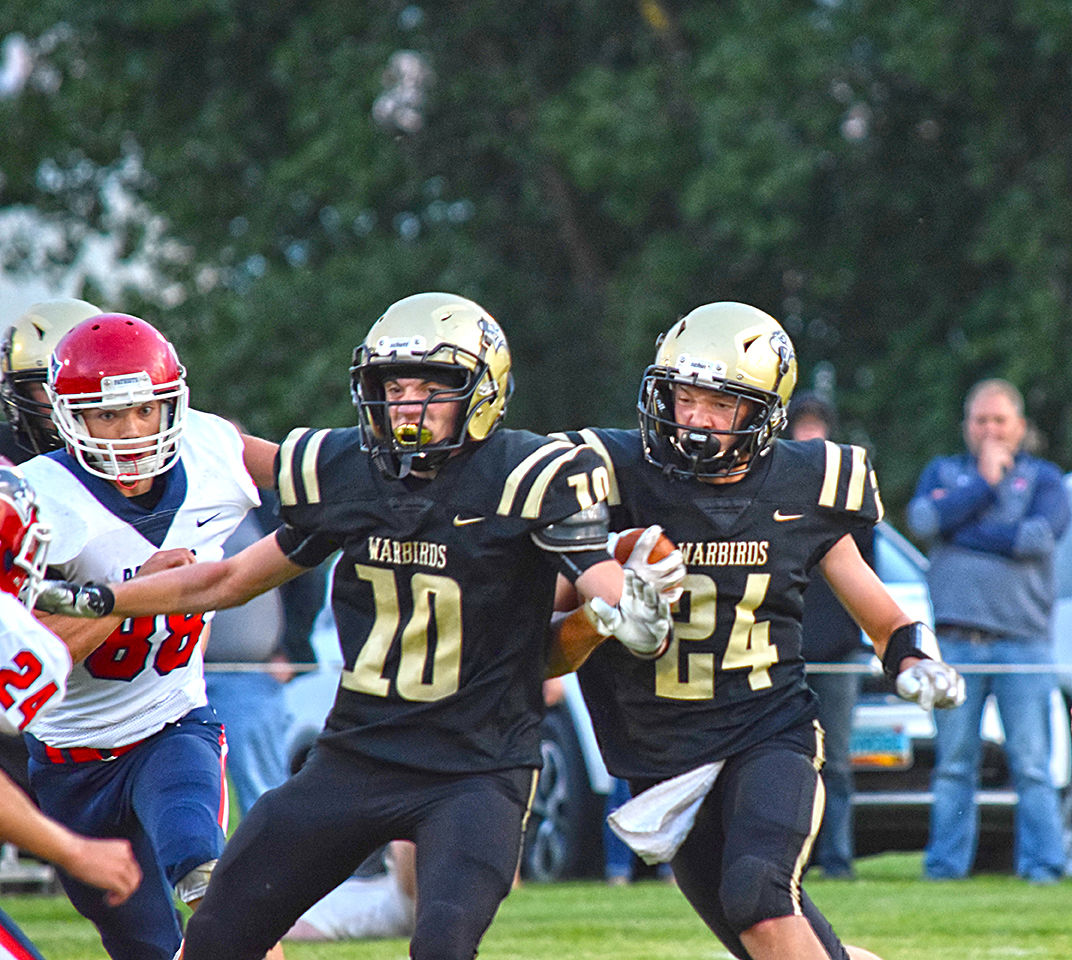 Warbirds draw first blood against Patriots