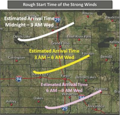Blizzard warning Wednesday in Twin Towns
