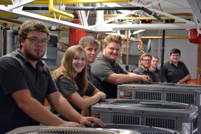 Ndscs Opens 1 Million Hvac R Lab Local News Stories Wahpetondailynews Com