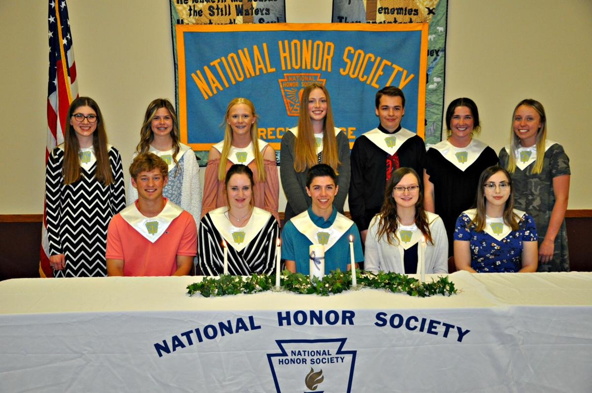 Breckenridge NHS holds Induction Ceremony
