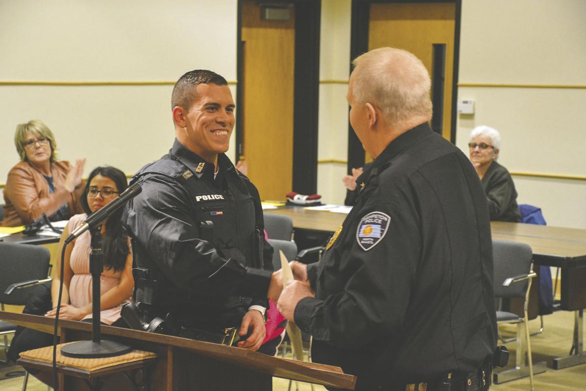 Newest Wahpeton police officer sworn in
