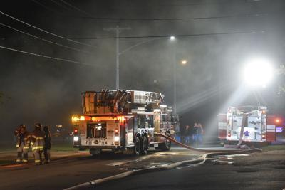 Breckenridge Fire Department responds to Monday night house fire