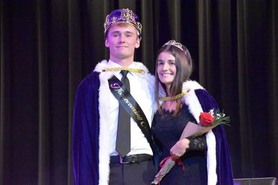 There they are, Wahpeton High School's king and queen
