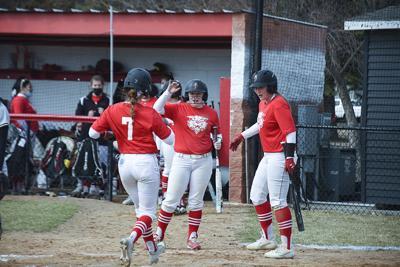 Wildcats softball swings towards sweep of Tetons