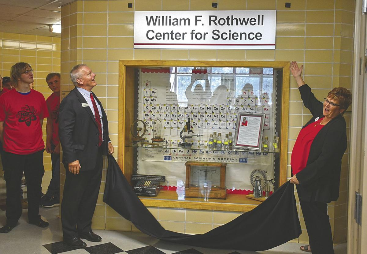 William F. Rothwell Center for Science dedicated at NDSCS