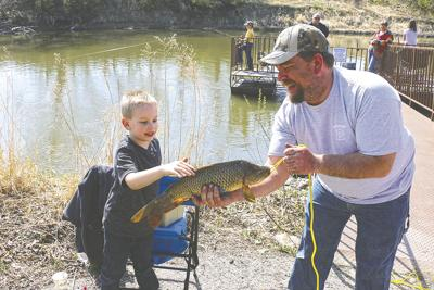 Free fishing event for families