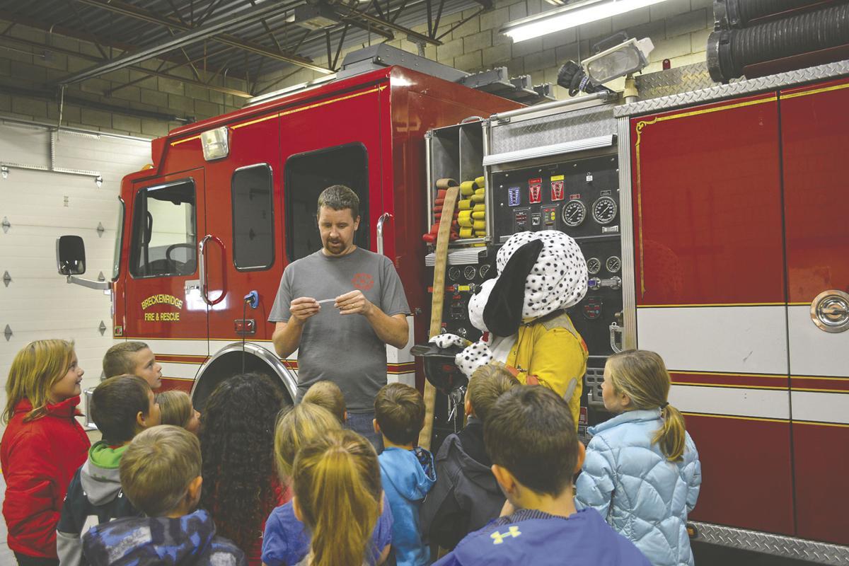 Breckenridge Fire Department hosts field trips