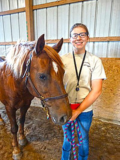 SIERRA STRENGE is one of only 16 high schoolers selected for AgDiscovery