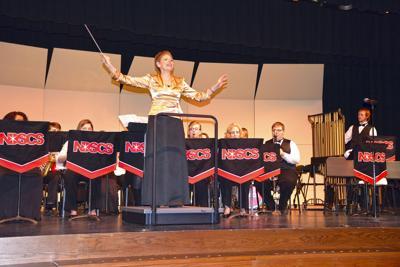 Band director prepares to pass baton