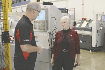 N.C. congresswoman visits NDSCS