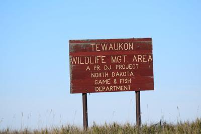 Lake Tewaukon is draining to assess flooding damages