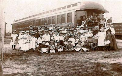 Orphan Trains were precursor to child foster system