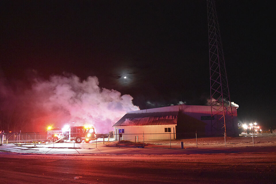 Highway Department shop, equipment expected to be total loss