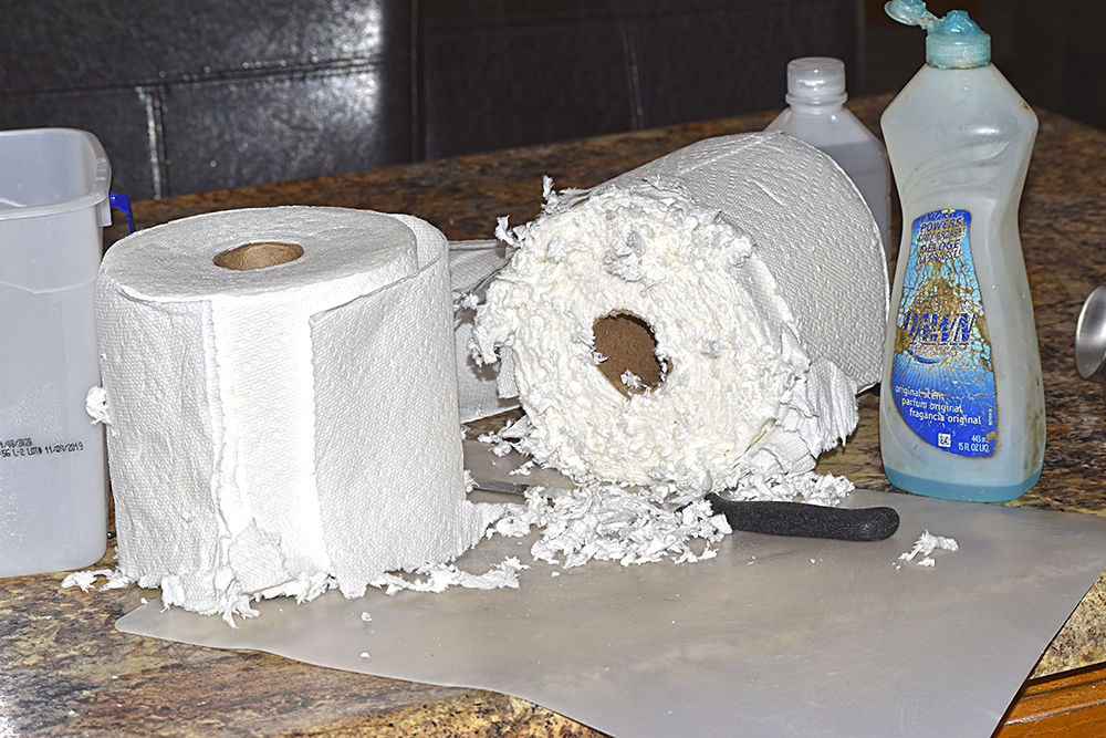 Can't find disinfecting wipes? Then just make them at home