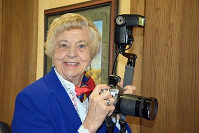 Goerger celebrates golden anniversary as a photographer