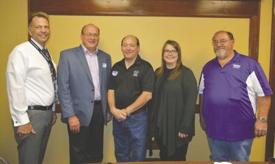 Rep. Backer visits Campbell-Tintah schools