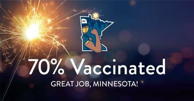 Minnesota reaches President Biden's vaccine goal