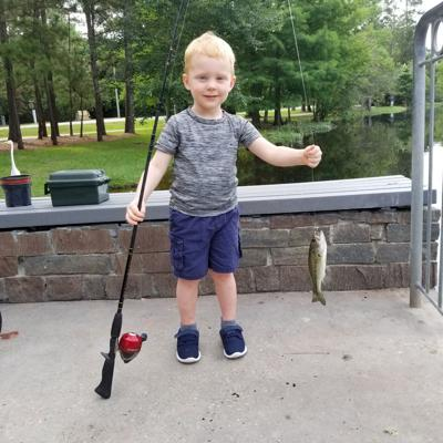 There's nothing better than teaching a grandchild to fish