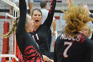 NDSCS sweeps all four opponents
