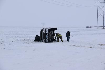 One-car rollover accident Friday morning in Breckenridge