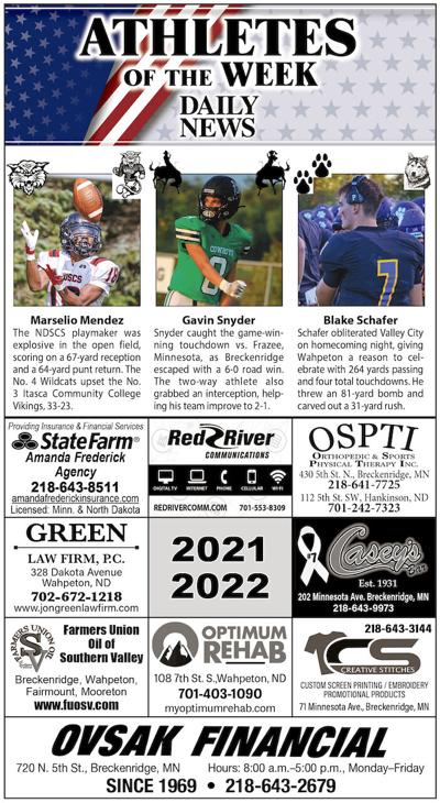 Athletes of the Week: Mendez, Snyder and Schafer