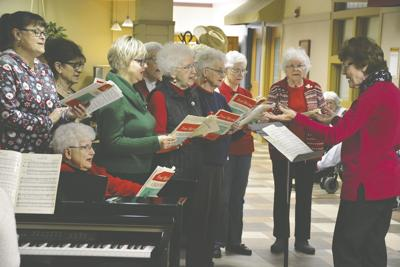 Musical Art Club Comes A Caroling In Breckenridge Local News Stories Wahpetondailynews Com