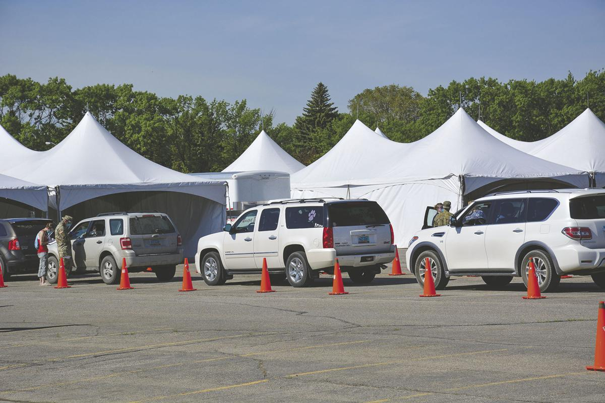 Mass COVID-19 testing event held in Wahpeton