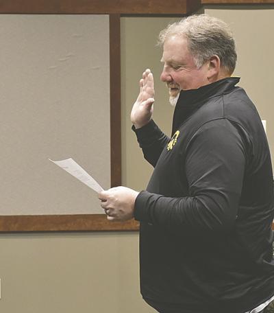 Breckenridge swears in new alderman
