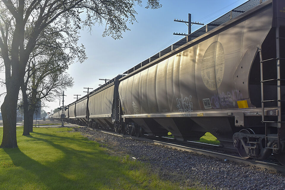Grains and trains