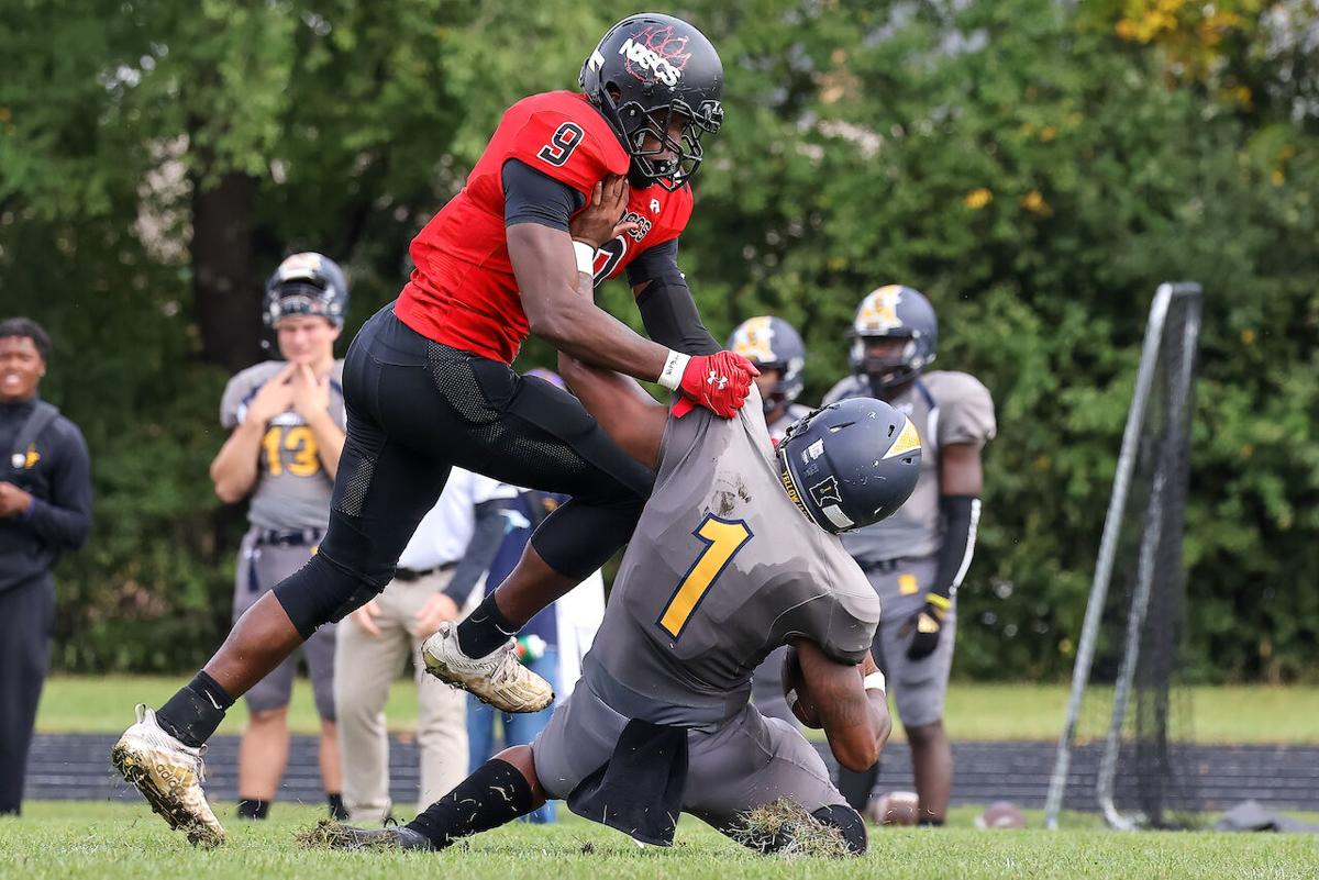 NDSCS clinches share of conference title with 30-13 victory