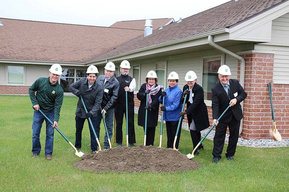 Groundbreaking held for assisted living and memory care