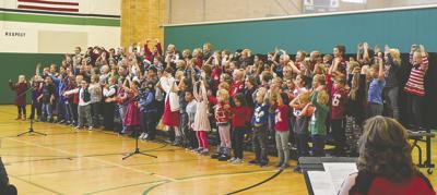 Breckenridge K-2 students hold winter concert