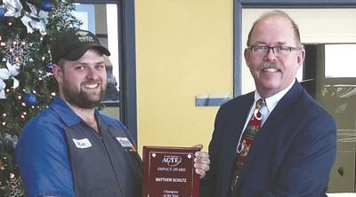 Schiltz receives Impact Award