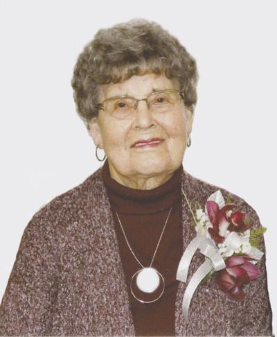 Anna F. Rudolph, 90