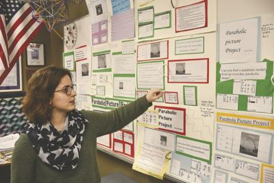 Students' to show off their hard work