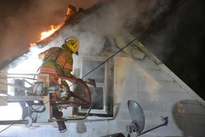 Late night house fire Monday in Wahpeton