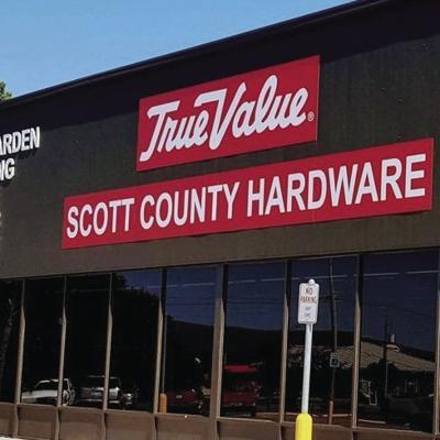 Doors of Scott County True Value  Hardware to open on Friday
