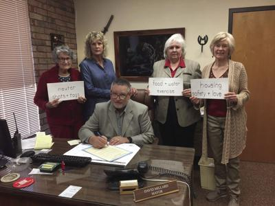 National Responsible Pet Ownership month declared in Waldron