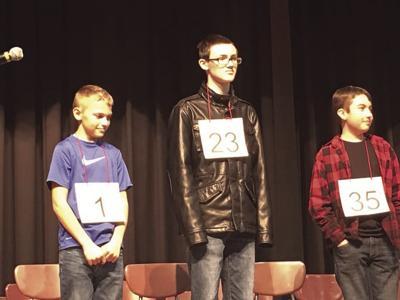 Local Spelling Bee winners