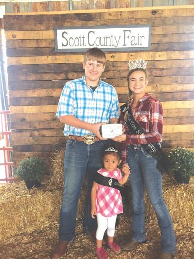 Youth exhibitors recognized at Livestock Auction