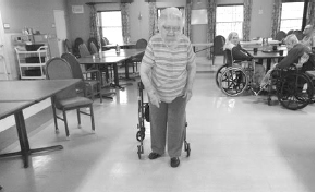 Waldron Nursing Center residents are in full swing with activities