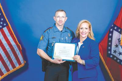 Lance named Scott County officer of the year by AR Attorney General