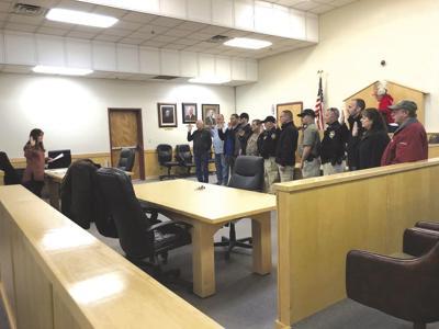 Waldron Officers Deputized