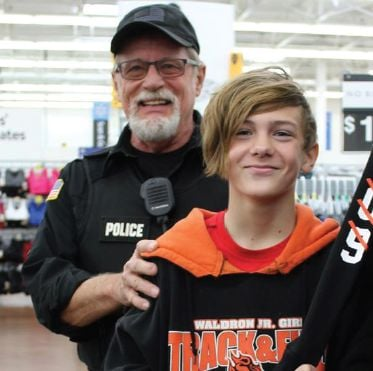Area children blessed through Shop With a Cop