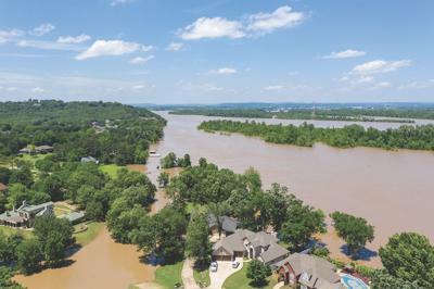 500-Year Flood inundates Arkansas River Valley