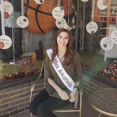 Miss Arkansas visits Scott County