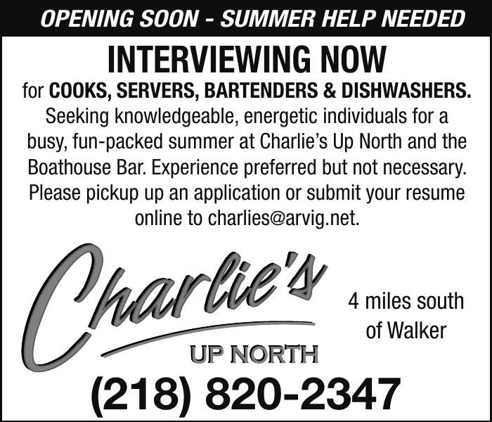 Charlie's Up North